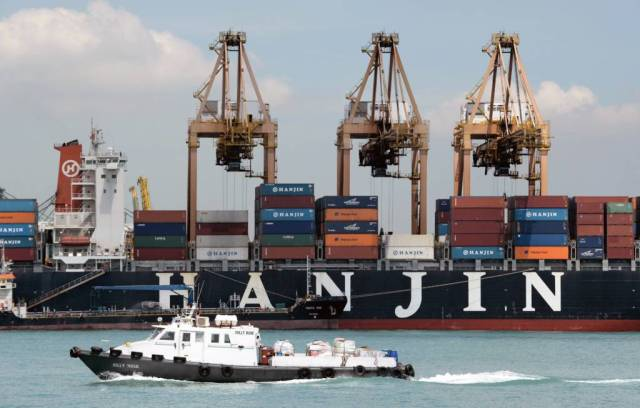 Hãng tàu Hanjin đệ đơn phá sản